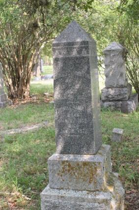Charles Hamilton headstone (newer)