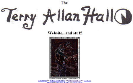 Yahoo  GeoCities   terryallanhall s Home Page